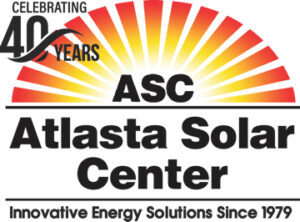 40 Years Atlasta Solar logo