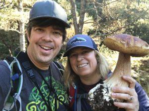 Trent and Kristen Blizzard, Mushroom seminar
